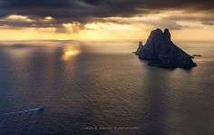 """Proterra - This is the first landscape photography that i liked since i started into photography, with the first reflex camera i owned, a Canon Xsi. It was taken in my favourite place of Ibiza island, with the view of Es Vedra and Es Vedranell islands.   The title makes referrence to the title of a CD of the group Runrig, whose song """"An Toll Dubh"""" makes me always feel good :-) https://www.youtube.com/watch?v=r4ElZ0Qu7lI  Thanks 500px user Daniel Olmo (https://500px.com/Daniel_Olmo) for…"""