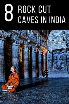 Some of the most spectacular examples of rock cut temples in India. Click pin through to post for full history and more photos.