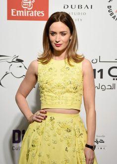 EMILY BLUNT at 2014 Dubai International Film Festival Opening Night