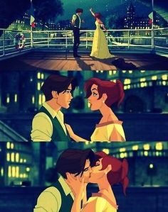 anastasia.  What a cute movie