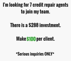 Image result for credit agents wanted Fes, Investing, Image