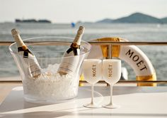 Smooth Sailing Moet Chandon Ice Imperial Boat