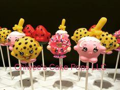Cake pops Shopkins cake pops