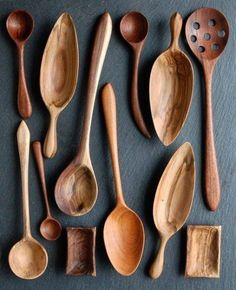 59 ideas diy kitchen utensils wooden spoons for 2019 kitchenutensils 59 ideas diy kitchen utensils wooden spoons for 2019 kitchen diy high temperature towel manicure tools disinfection cabinet Wooden Spoon Carving, Carved Spoons, Wood Spoon, Wooden Kitchen, Diy Kitchen, Rustic Spoons, Cerámica Ideas, Wooden Diy, Diy Wood