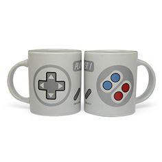 ThinkGeek :: 2-Player Gaming Mug Set