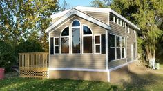 Tiny House Listings: Tiny Houses For Sale and Rent Single Size Bed, Kropf, L Shaped Couch, Mobile Home Parks, Hidden Bed, Island Table, Tiny House Listings, Entertainment Stand, Tiny Houses For Sale