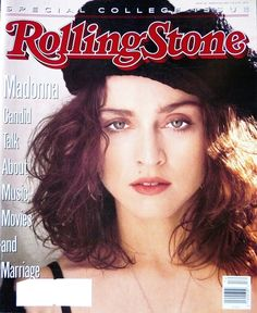 Madonna. Rolling Stone Magazine. 1989 Photo By: Herb Ritts