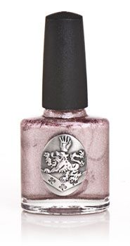 Nox Twilight Nail Polish in Wine & Dine.  A pretty nail color, although not unique.  Applies smoothly and wear time is average.  I recommend a Sally Hansen or Opi base and top coat.  The bottle, however, is gorgeous.  The detail on the Cullen Crest is nicer than most of the NECA jewelry.  $6.99 at TwilightBeauty.com or on Amazon.