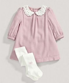 New sewing baby girl winter doll clothes ideas Baby Outfits, Winter Outfits For Girls, Winter Dresses, Trendy Baby Girl Clothes, Baby Kids Clothes, Doll Clothes, Frocks For Girls, Little Girl Dresses, Toddler Girl Dresses
