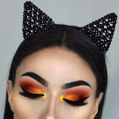 "2,367 Likes, 26 Comments - Sophie Rahman (@sr.beauty.18) on Instagram: ""#gnpost // this #makeup look from @littledustmua is giving me #sunset vibes and is so #pretty ❤️…"""