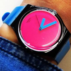 #Swatch Modern Watches, Stylish Watches, Watches For Men, Tic Tac, 3c, Woman Fashion, Digital Watch, Jewerly, Clock