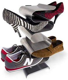 Amazon.com: j-me Shoe Rack Nest Wall-mounted Shoe Shelf Shoe Holder (Wall Mounted): Home & Kitchen