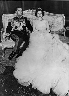 The Shah of Iran and Queen Soraya