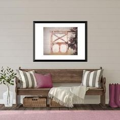 Rustic  farmhouse decor print of barn door.  Barn prints are beautiful rustic wall decor.  Bring this beautiful barn photo into your home decor.  Click to see options and other rustic home decor photos.  #barnphotos #barnprints #barnprintswallart #farmousedecor #rusricwalldecor