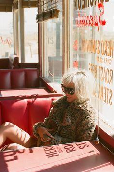 Donna Leopard Coat