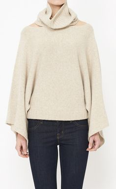 Inhabit Tan Sweater