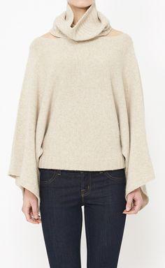 Inhabit Tan Sweater | VAUNTE