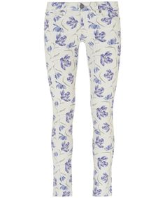 Paige, Sophie Alice Liberty Print Skyline Ankle Peg Jeans