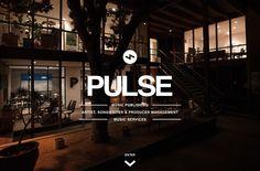 Pulse Recordings | Web Design File