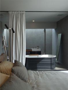 Is the bathtub a watering trough?