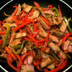 Steak Fajitas - Whole 30 Approved
