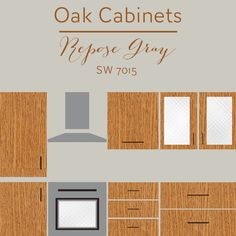 oak cabinets repose gray wall color The Ultimate Guide To Cabinets Part The Best Wall Colors To Update Stained Cabinets. In order to find the right wall color, it's important to know.
