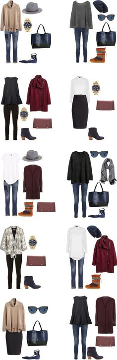 What to Wear in Prague, Czech Republic. Outfits 1-10 #packinglight #travellight #traveltips