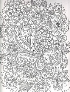 color Quote Coloring Pages, Mandala Coloring Pages, Free Coloring Pages, Coloring Sheets, Coloring Books, Doodle Patterns, Zentangle Patterns, Embroidery Patterns, Coloring Pages For Grown Ups