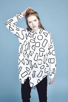 Lazy Oaf Geo Shape Shirt http://www.lazyoaf.com/lazy-oaf-geo-shape-shirt-2