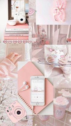 Wallpaper aesthetic Pink