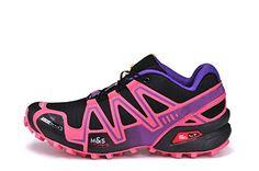 DODOC Summer Womens Speedcross 3 Women's Trail Running Shoes Shoe Sports Running Shoes Purple Rose 41US *** More info could be found at the image url.