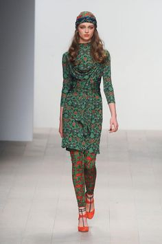 print play at Issa LFW Fall 2012