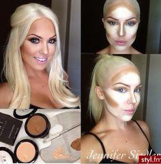 Face Contouring. Makeup