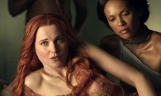 Lucretia and Naevia - Lucy Lawless, Lesbian Humor, Netflix Gift Card, Spartacus, Movie List, Quentin Tarantino, Film Movie, Movies To Watch, Bestselling Author