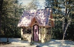 Fairy Tale Forest, Oak Ridge, NJ.... abandoned theme park