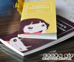 Cute Girl Portable English Word Learn Notebook