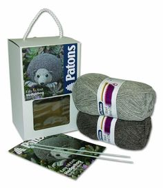 Patrons - Knitting Kit - Hedgehog - Intermediate Level - PBNK000-0082A