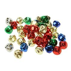 Creation Station 15 mm Jingle Bells ,  Assorted Colours    , Pack of 80