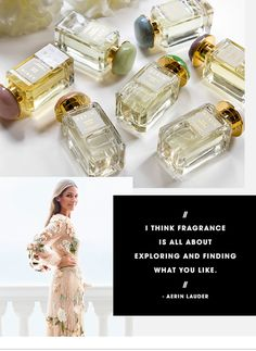"""""""I think fragrance is all about exploring and finding what you like."""" -Aerin Lauder for @sephora (Level 2, West)"""