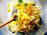 Tossing the Green Mango Salad