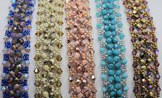 Deb Roberti's Crystal Tennis bracelets