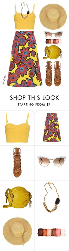 """~I see your face and the lightning strikes me~"" by maloops ❤ liked on Polyvore featuring Tomas Maier, House of Holland, Isabel Marant, Gucci, Jessica Simpson, Tilly Doro, NYX, Greece, Santorini and outfitsfortravel"