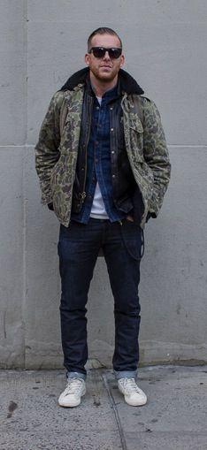 95eef42c21 Camo Street Style Sharp Dressed Man