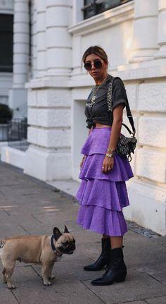 Women& fashion long skirts winter Ideas - Women& fashion long skirts winter Ideas Informations About Moda femenina faldas largas inv - Fashion Week, Look Fashion, Street Fashion, Fashion Outfits, Womens Fashion, Fashion Trends, Fashion Tips, Looks Style, My Style