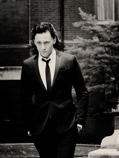 This has got to be the most dapper Loki picture I've e'er seen!