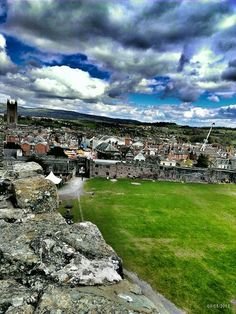 Ludlow from the castle