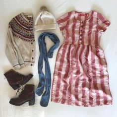 """ee0dbb7d2dd3e Pyne   Smith Clothiers on Instagram  """"Dresses paired with natural fibers  for winter! and yes"""