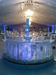 Circular Ice Bar