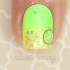 Love these lime's   Vid Credit: @nailstorming  Double tap ❤️ and spam with lots of love ❤️! Then follow   Follow @nails.tutorialvideo Follow @chic.videos  #chic #vids #video #videos #beauty #beautiful #trend #trending #nails #nail #nailporn #nailpolish #nailstagram #nailsofinstagram #mani #manicure #nails2inspire #nailswag #nailsoftheday #limes #tutorial #me #girl #girly #gel #gelpolish #gelmanicure #gelmani #polish #polishgirl