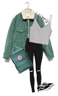 """""""Untitled #65"""" by redmoon2903 on Polyvore featuring Topshop, H&M and Fjällräven"""
